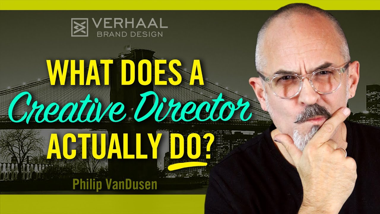Want To Be A Creative Director What Does A Creative Director Do Youtube
