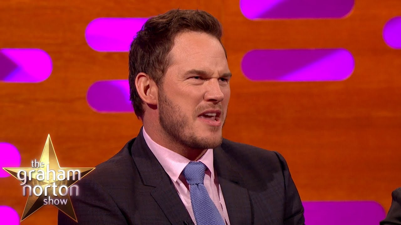 Chris Pratt Absolutely Nails TOWIE Accent The Graham Norton Show - Guy absolutely nails 29 celebrity impressions