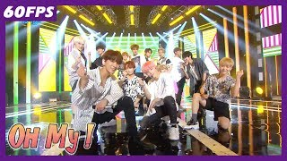 60FPS 1080P | SEVENTEEN - oh My!, 세븐틴 - 어쩌나 Show Music Core 20180721