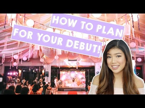 How To Plan For Your Debut (in the Philippines!) | Janina Vela