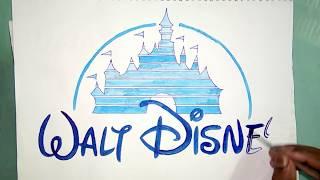 How To Draw The Walt Disney Castle