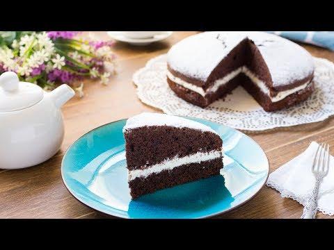 Torta Paradiso al Cacao con Crema alla Panna - Ricetta Facile e Veloce – 55Winston55