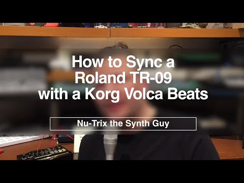 How to sync a TR-09 and a Volca BEATS (MIDI or Trigger Sync)