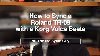 Download lagu How to sync a TR 09 and a Volca BEATS MP3