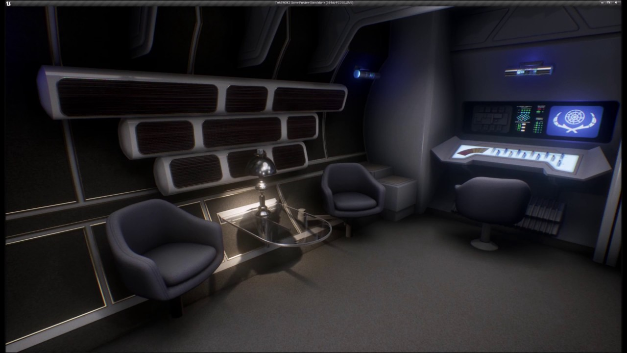 Inside the USS Enterprise NCC1701 Refit YouTube