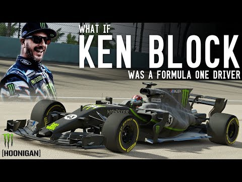 What if Ken Block was a Formula One Driver!!