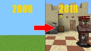 The Minecraft Evolution (2009-2019)