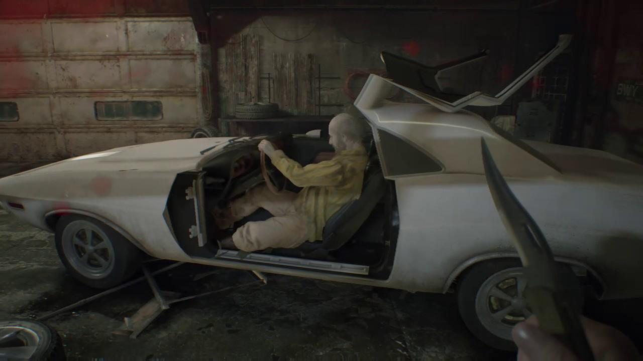 Resident Evil 7 Jack Steals Ethans Car Youtube