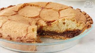 Buttermilk Pie with Molasses. WORTH TRYING!