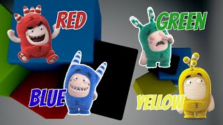 Oddbods Puzzle Animation - Kids Learn Colors