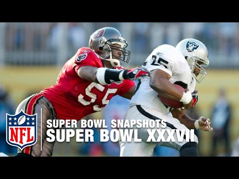 Super Bowl Snapshot:  Derrick Brooks Remembers Super Bowl XXXVII | NFL