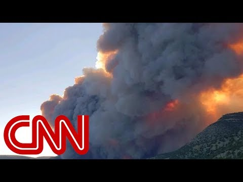 Thousands of acres ablaze in Colorado, New Mexico