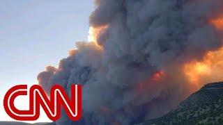 Thousands of acres ablaze in Colorado, New Mexico