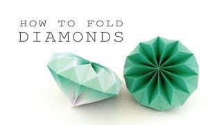 ダイアモンドの折り方💎ver.2 thumbnail