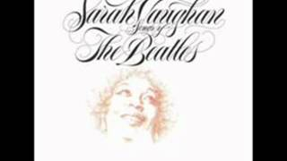 Watch Sarah Vaughan Yesterday video