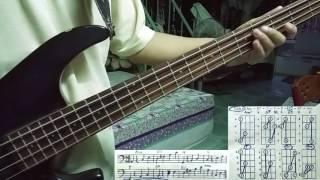 Tự học guitar bass - điệu Bolero - câu 4