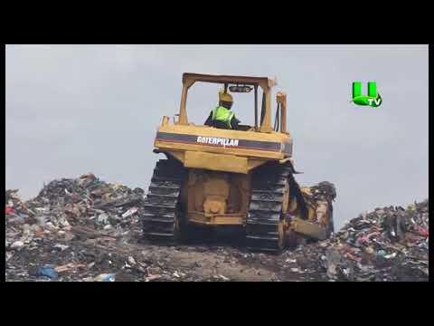 Hon. Joseph Kofi Adda evacuates illegal dumping sites