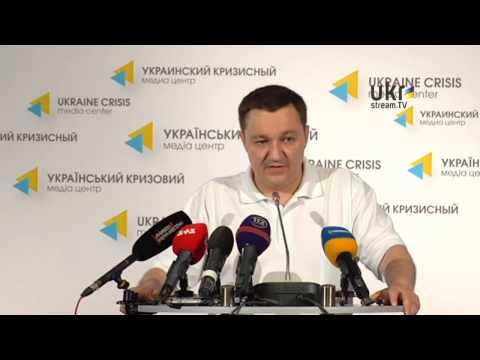 Dmytro Tymchuk. Ukrainian Сrisis Media Center. June 5, 2014