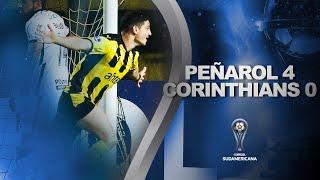 Peñarol vs. Corinthians [4-0] | RESUMEN | Fecha 4 | CONMEBOL Sudamericana 2021