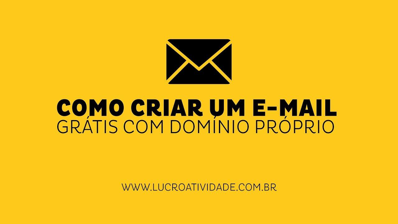 CRIAR UM DOMINIO GRATIS