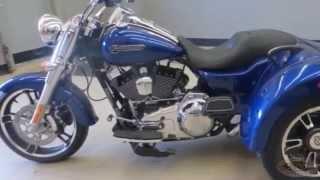 2015 Harley Freewheeler Trike Great Falls MT (406) 205-4807 Blue
