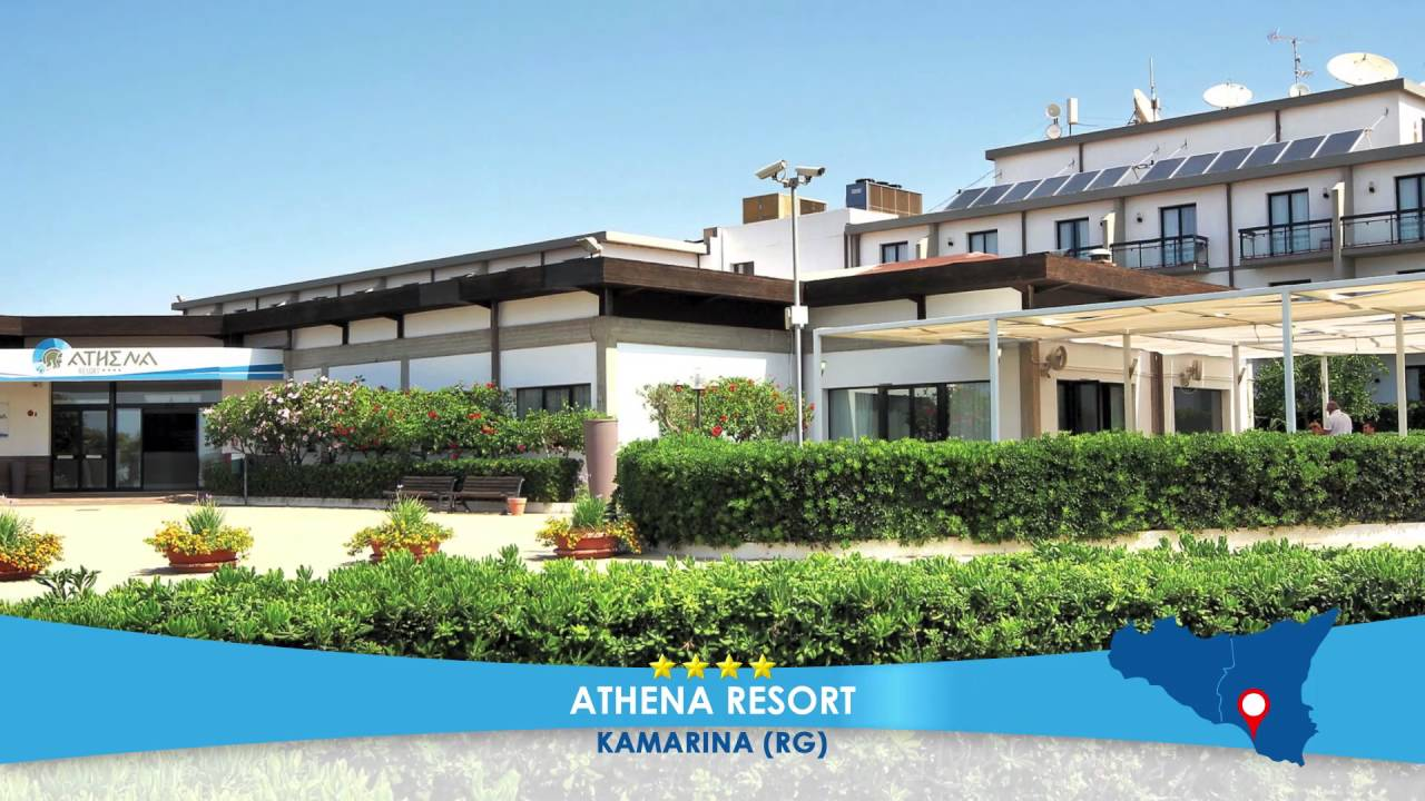 Athena Resort **** - KAMARINA (SICILIA) - Mare Italia 2016 - YouTube