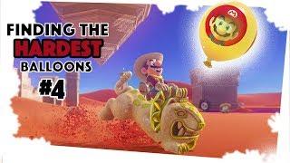 Finding The Hardest Balloons in the Sand Kingdom : Luigi's Balloon World