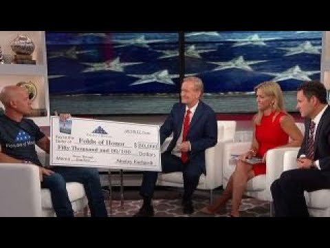 Ainsley Earhardt donates book proceeds to Folds of Honor