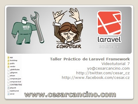 VideoTutorial 7 del Taller Práctico de Laravel Framework. Upload de Archivos