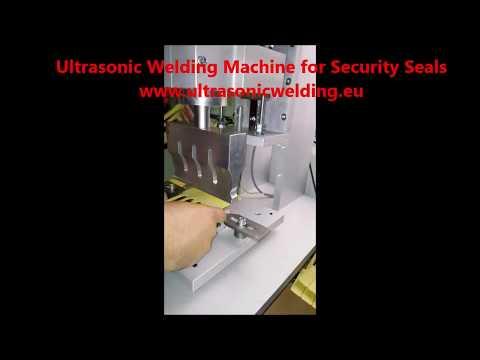 Ultrasonic Welding Machine For Security Seals