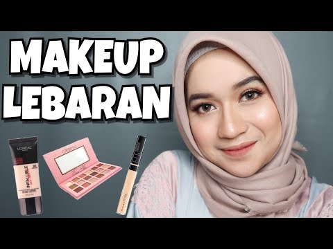 Makeup Lebaran 2018 (Drugstore Products) | Clara Haniyah