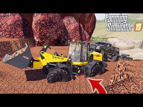 MINING IS HERE! | BIG THINGS HAPPENING! | FARMING SIMULATOR 2019 thumbnail