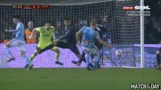 GOL DE DANIEL WASS Celta Vigo vs Real Madrid 2-1   [Copa del Rey] 25/01/2017 HD