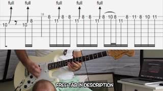 Deep Purple - Maybe Im a Leo OUTRO guitar solo lesson