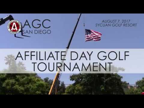 AGC San Diego Affiliate Day Golf Tournament 2017