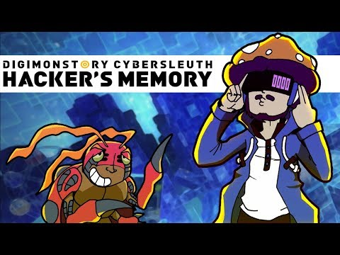 Digimon Story Hacker's Memory #7 | Cat ladies and businessmen in gas masks