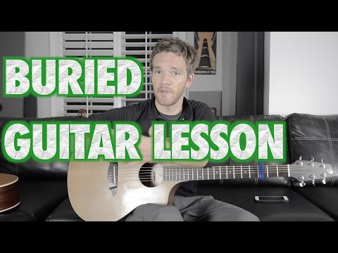 Buried Acoustic Guitar Lesson