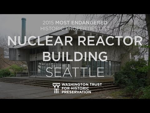 Nuclear Reactor Building (More Hall Annex) - 2015 Most Endangered Properties List
