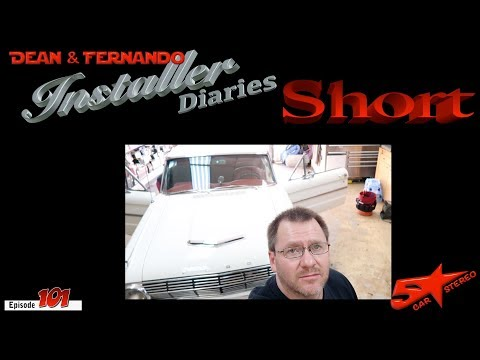 Quick Radio install in a classic Ford Falcon  Installer Diaries 101