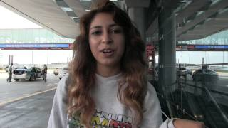 Porn Star Sarai Before She Was Famous - Airport Interview With G.Va'Ree Studios