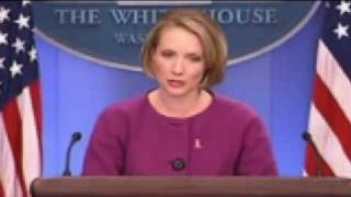 Helen Thomas pushes Dana Perino over the edge! thumbnail