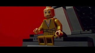 LEGO Star Wars the Last Jedi:  Snoke's Death Scene.... [Frame by Frame]....