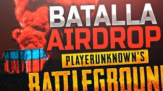 ¡BATALLA EN UN AIRDROP! DOBLE GROZA!!   PLAYERUNKNOWN'S BATTLEGROUNDS (PUBG)