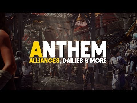 Anthem | Clan System, Daily Challenges, Hub World, Vendors & More