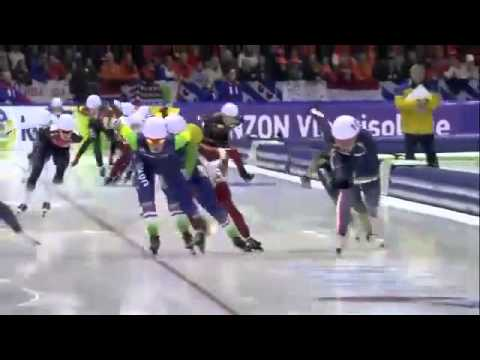 Ladies Mass Start   ISU World Single Distances Speed Skating Championships 2015 online video cutter