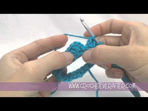 How To Crochet An Open Tube or Circle Tutorial