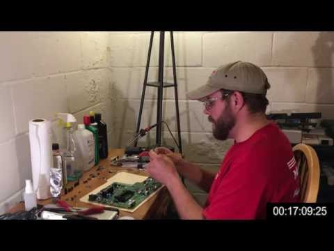 Desh's Workshop: Complete Turbo Duo Capacitor Repair