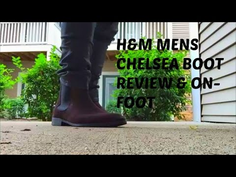 d0784364fdb Mens Chelsea Boot // H&M Mens Chelsea Boot Review & On-Foot - YouTube