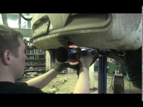 Замена выхлопной системы Kia Ceed - Автосервис Глушак