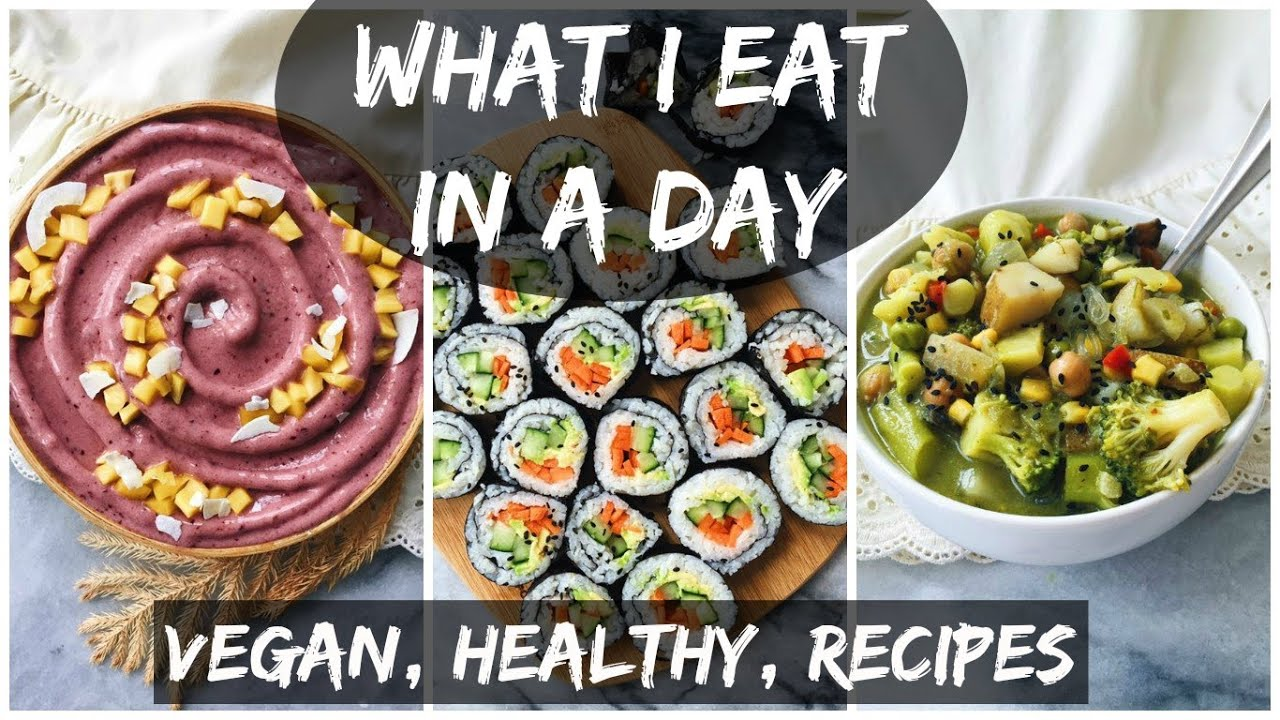 DAY 4 || What I Eat In A Day (17) HCLF VEGAN + SPICY SUSHI RECIPE